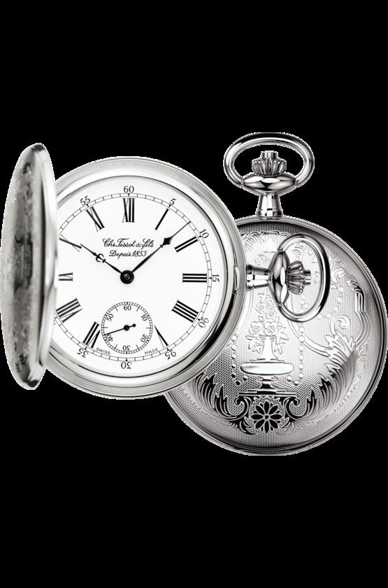 นาฬิกาพก Tissot รุ่น T83855313, T-Pocket Savonnette Mechanical
