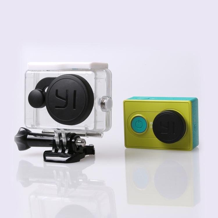 ฝาปิดเลนส์กล้อง และ ฝาปิดเลนส์เคสกันน้ำ Xiaomi Yi Action