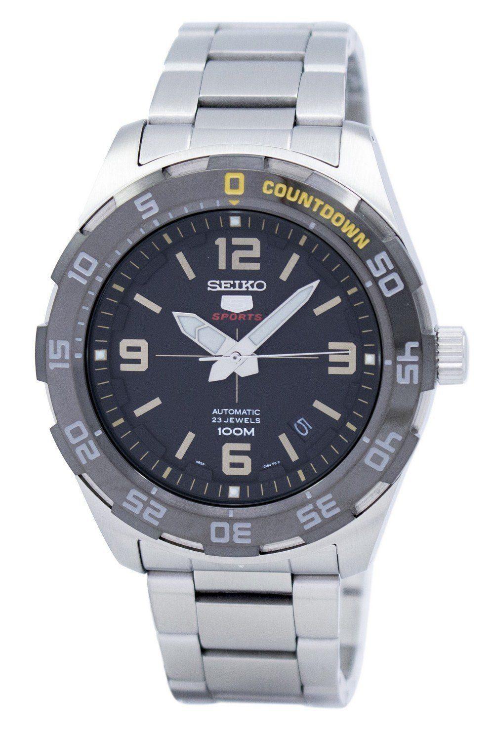 นาฬิกาผู้ชาย Seiko รุ่น SRPB83K1, Seiko 5 Sports Automatic