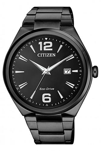 นาฬิกาผู้ชาย Citizen Eco-Drive รุ่น AW1375-58E, Black IP Men's Watch