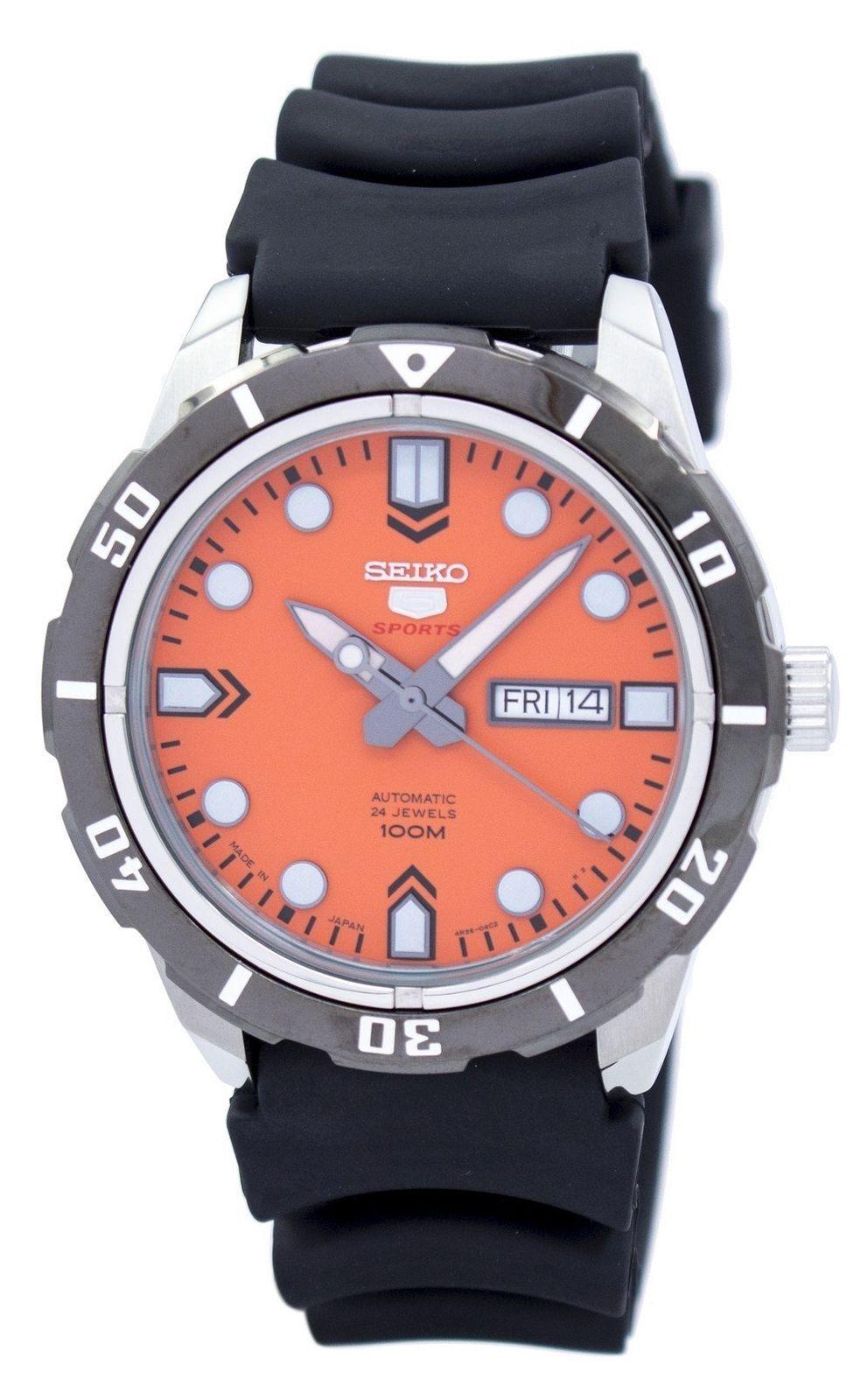 นาฬิกาผู้ชาย Seiko รุ่น SRP675J1, Seiko 5 Sports Automatic Japan