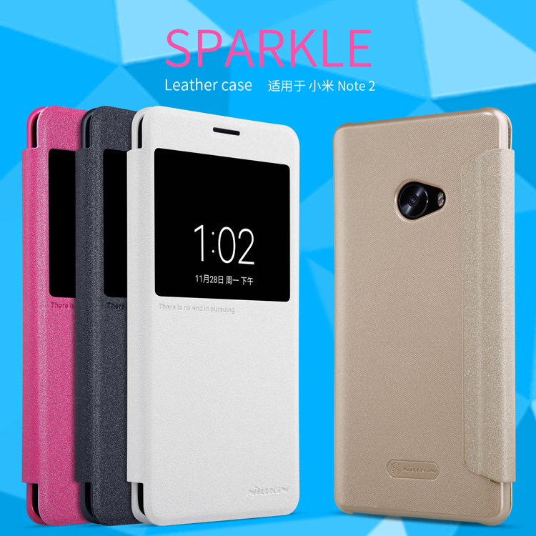 เคส Xiaomi Mi Note 2 Nillkin Sparkle Leather Case