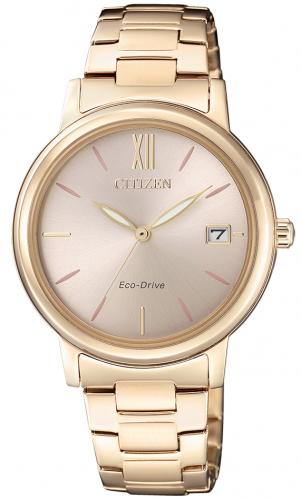 นาฬิกาผู้หญิง Citizen Eco-Drive รุ่น FE6093-87X