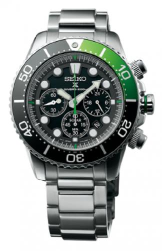 นาฬิกาผู้ชาย Seiko รุ่น SSC615P1, Prospex Sea Solar Chronograph Divers