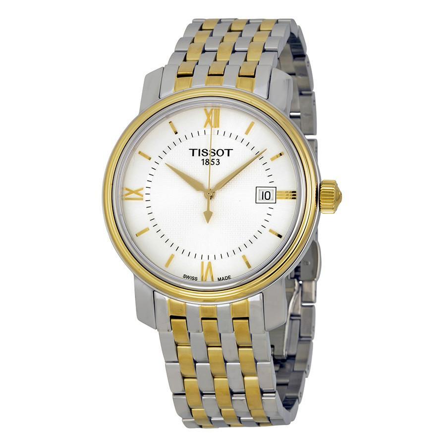 นาฬิกาผู้ชาย Tissot รุ่น T0974102203800, BRIDGEPORT