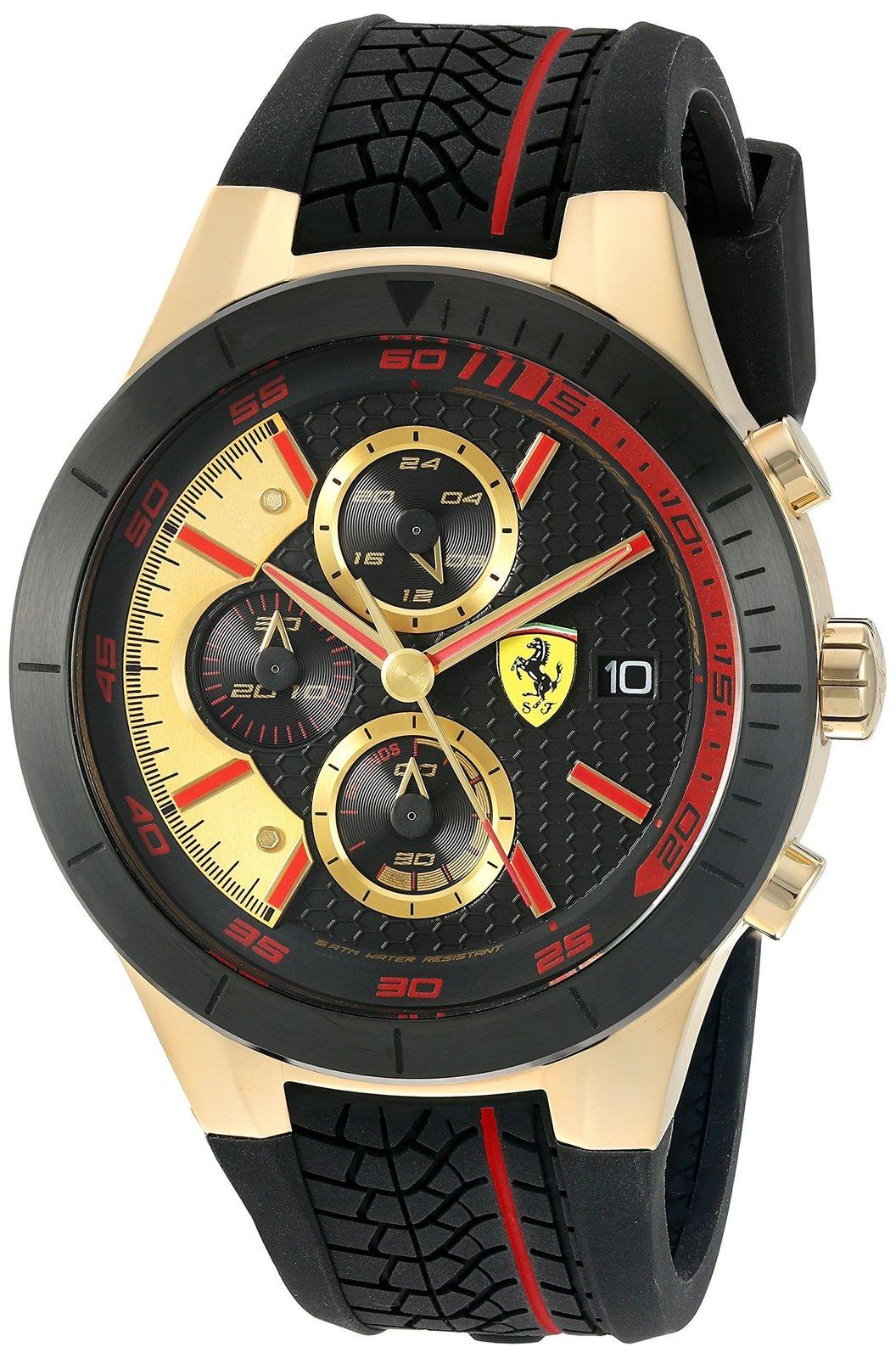 นาฬิกาผู้ชาย Ferrari รุ่น 0830298, RedRev Evo