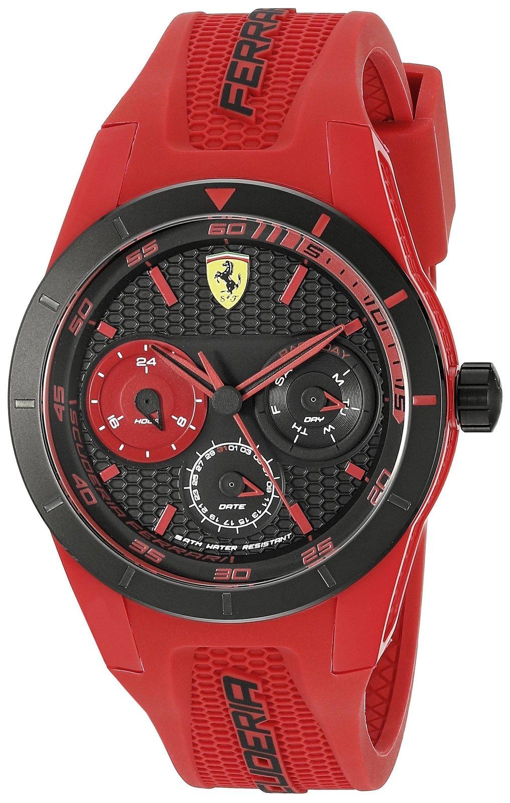 นาฬิกาผู้ชาย Ferrari รุ่น 0830258, RedRev T