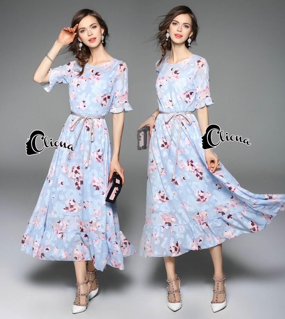 Cliona Made' Helena Segura Luxury Dress
