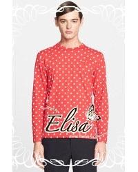 Elisa made Heart Beat Polka Polka Dot Chilling Outfit