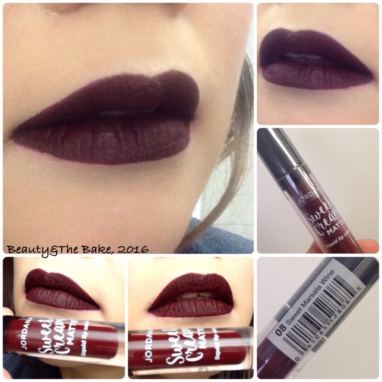 ... Jordana Sweet Cream Matte Liquid Lip Color 08 Sweet Marsala Wine Source MATTE LIP CREAM