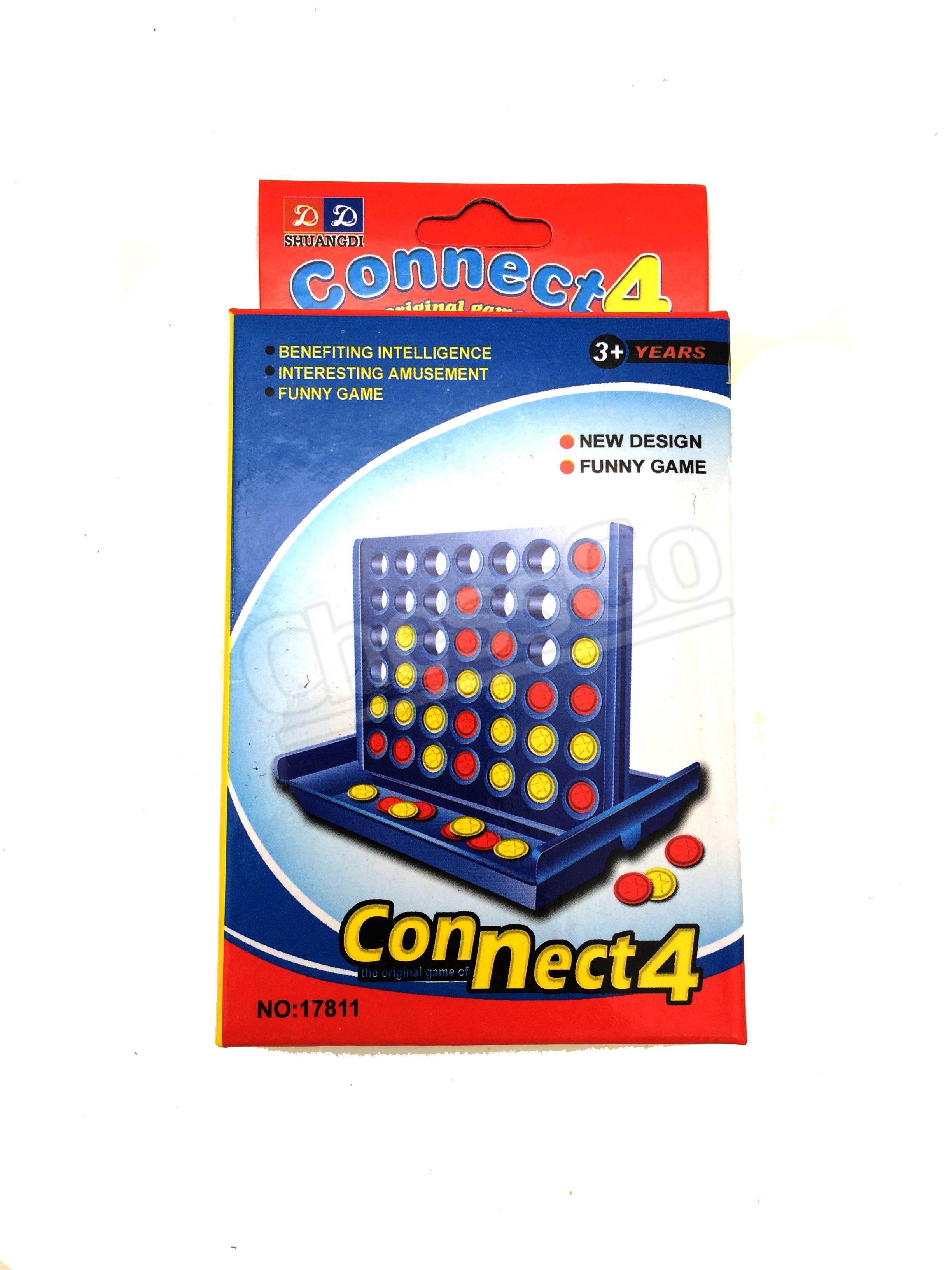 เกมเรียงสี่พลาสติก Connect 4 S