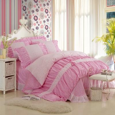 ชุดผ้าปูที่นอนเจ้าหญิง ลูกไม้ SD3019-13P