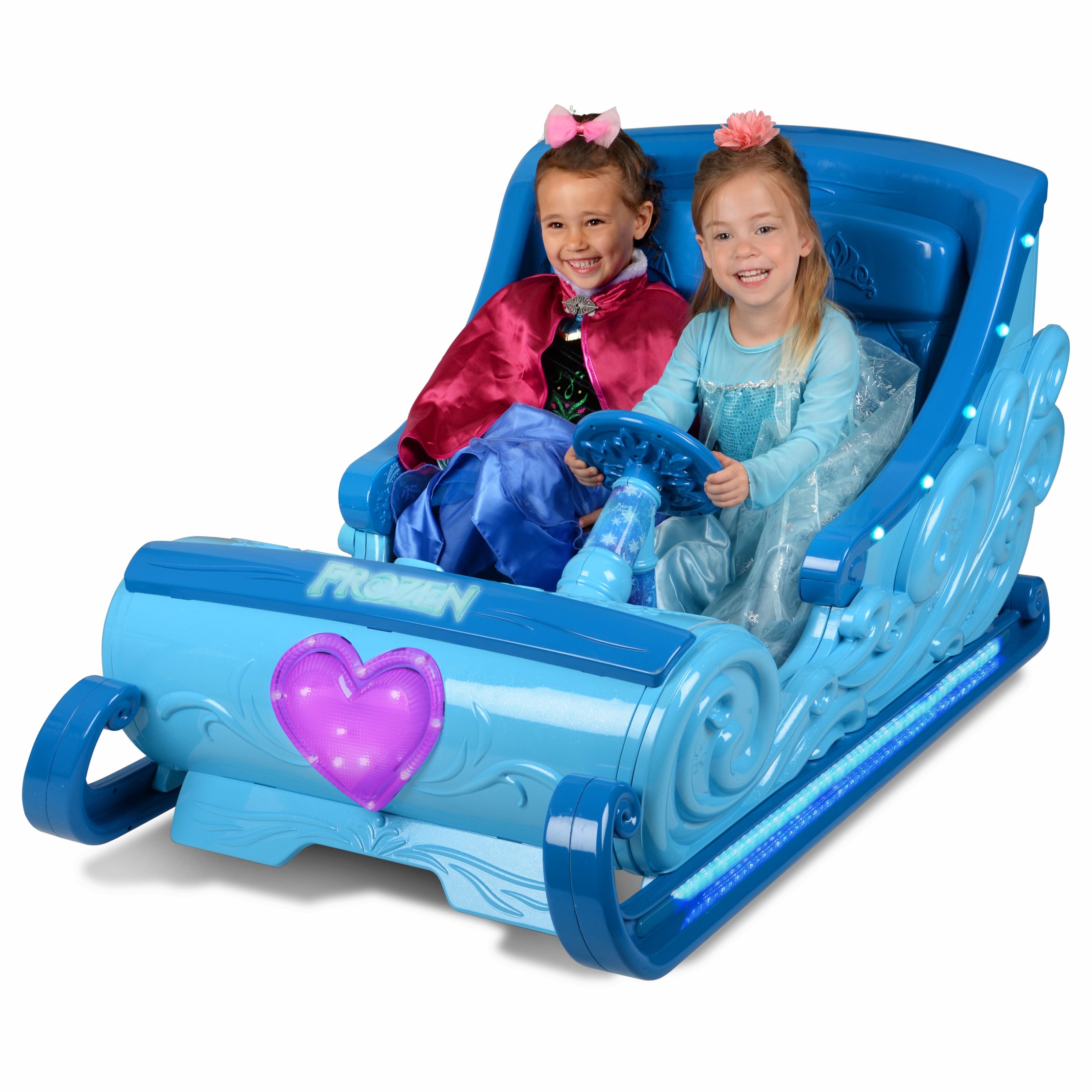 รถลากเลื่อนแบตเตอรี่ Disney Frozen 12-Volt Ride-On Sleigh