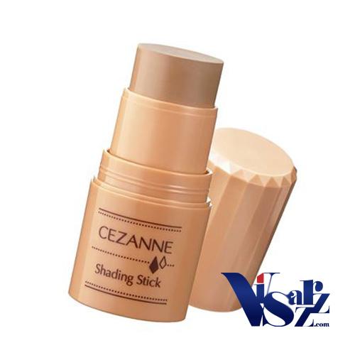 (ขายส่ง 245.-) Cezanne Shading Stick 5g เฉดดิ้งเนื้อครีมสีน้ำตาลเป็นธรรมชาติ สร้างมิติให้ใบหน้าเล็กลงอย่างเห็นได้ชัด ใบหน้าดูเรียวเล็ก เหมาะกับทุกสีผิว