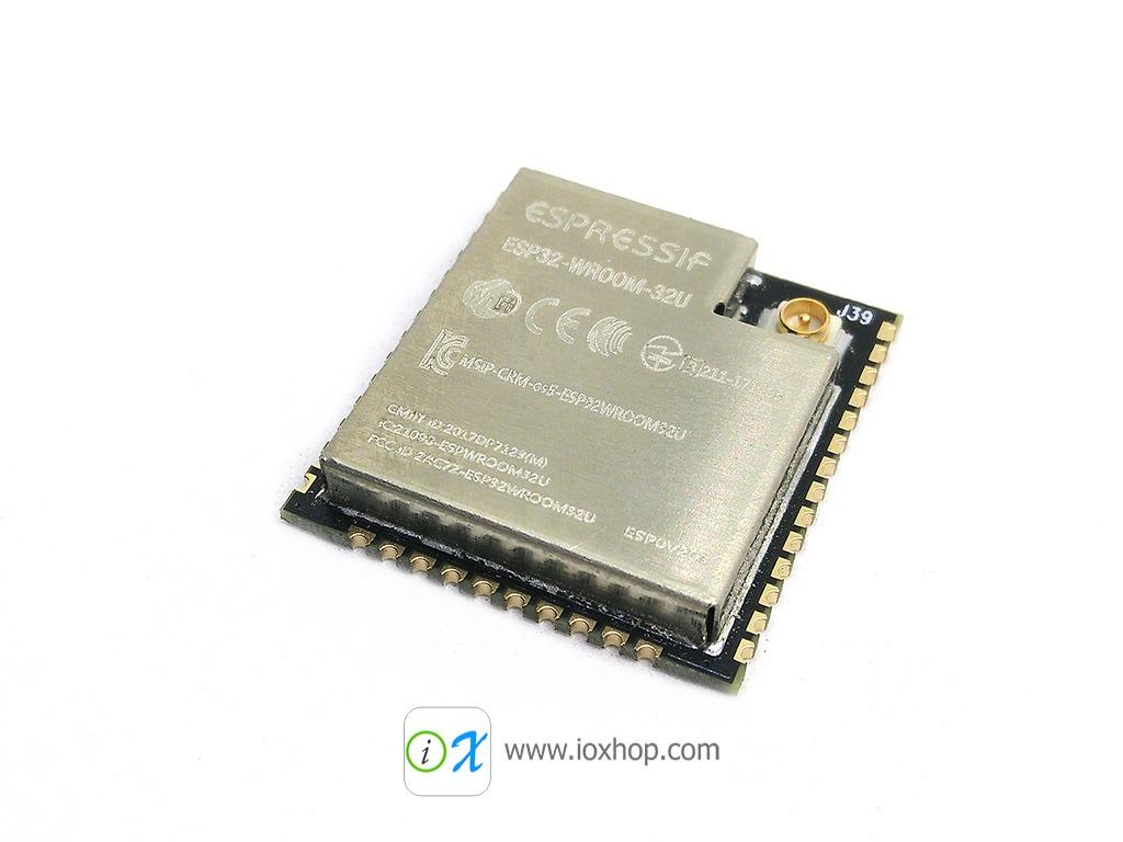 ESP32-WROOM-32U ESP32 IPX/U.FL connecter external antenna