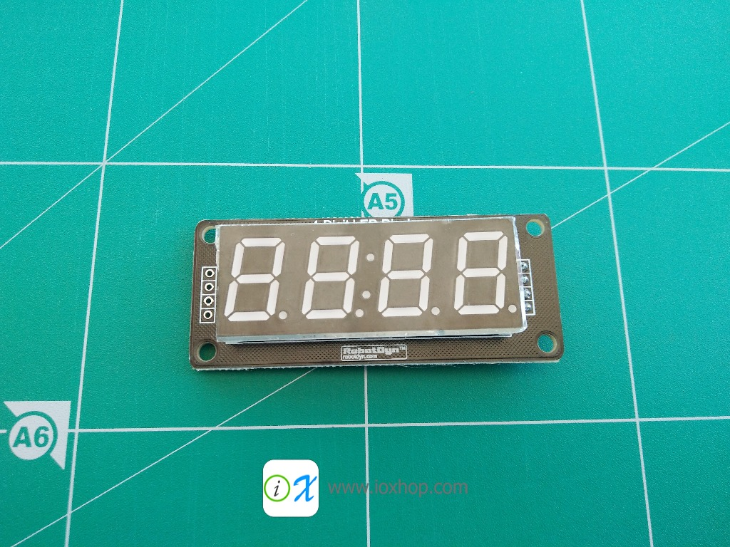 "RobotDyn 4-Digit 0.52"" RED 7 Segment Display"