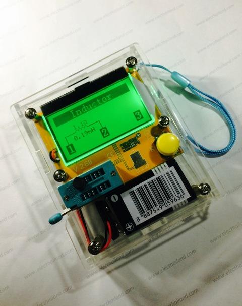 LCR T4 ESR SCR transistor tester resistance capacitance