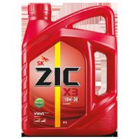 Zic X3 10W30 ดีเซล7,000กิโล ขนาด 6+1 ลิตร
