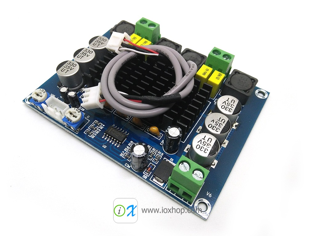 120W+120W TPA3116D2 Class D Amplifier Board
