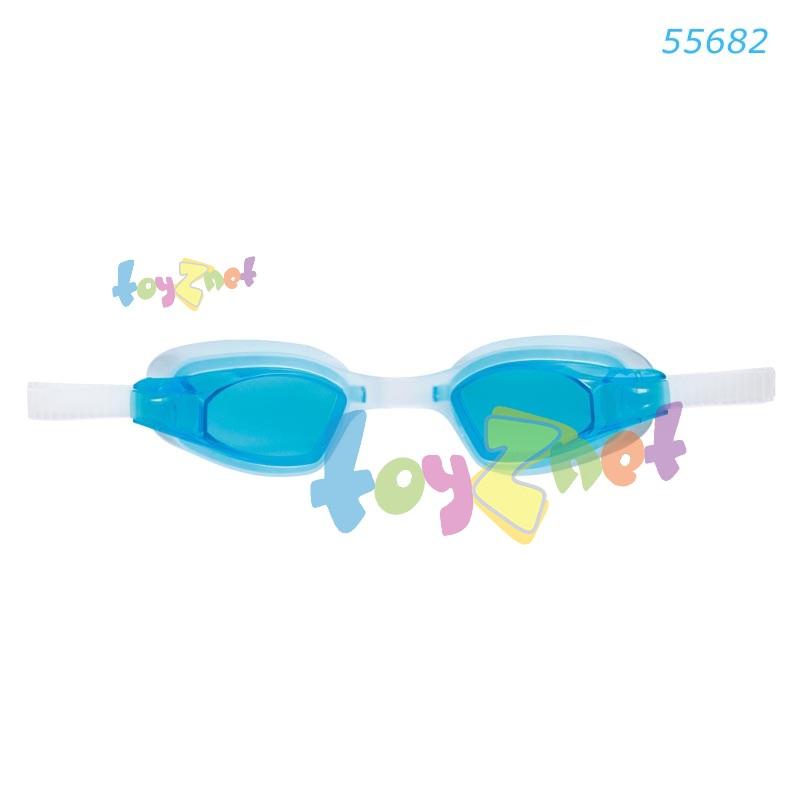 Intex แว่นว่ายน้ำ ฟรี สไตล์ สปอร์ต รุ่น 55682BL