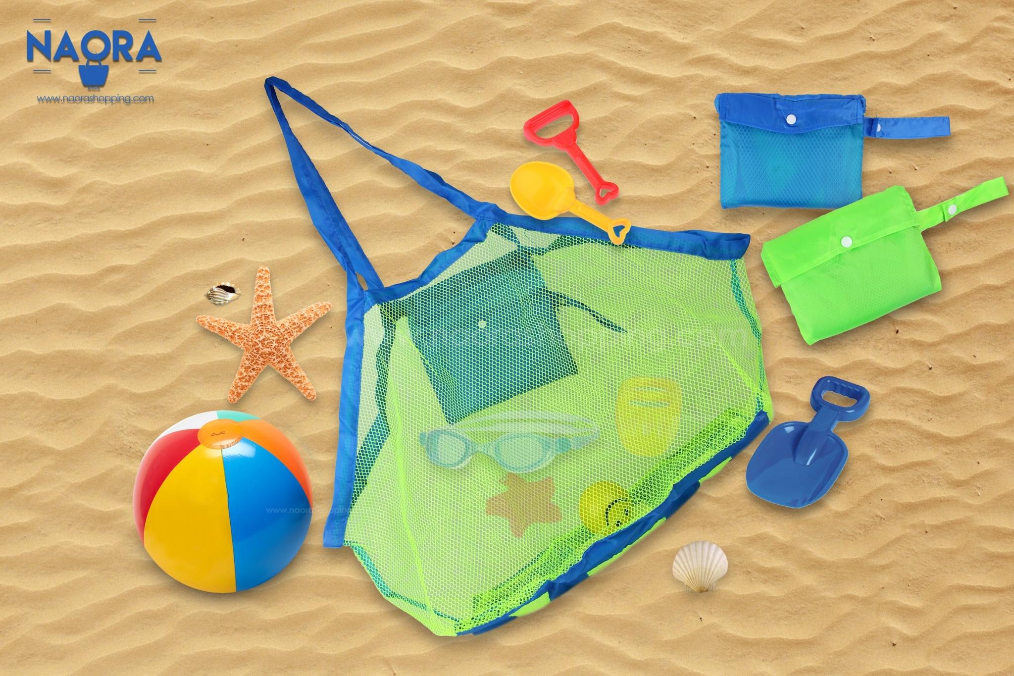 กระเป๋าชายหาดแบบพกพา