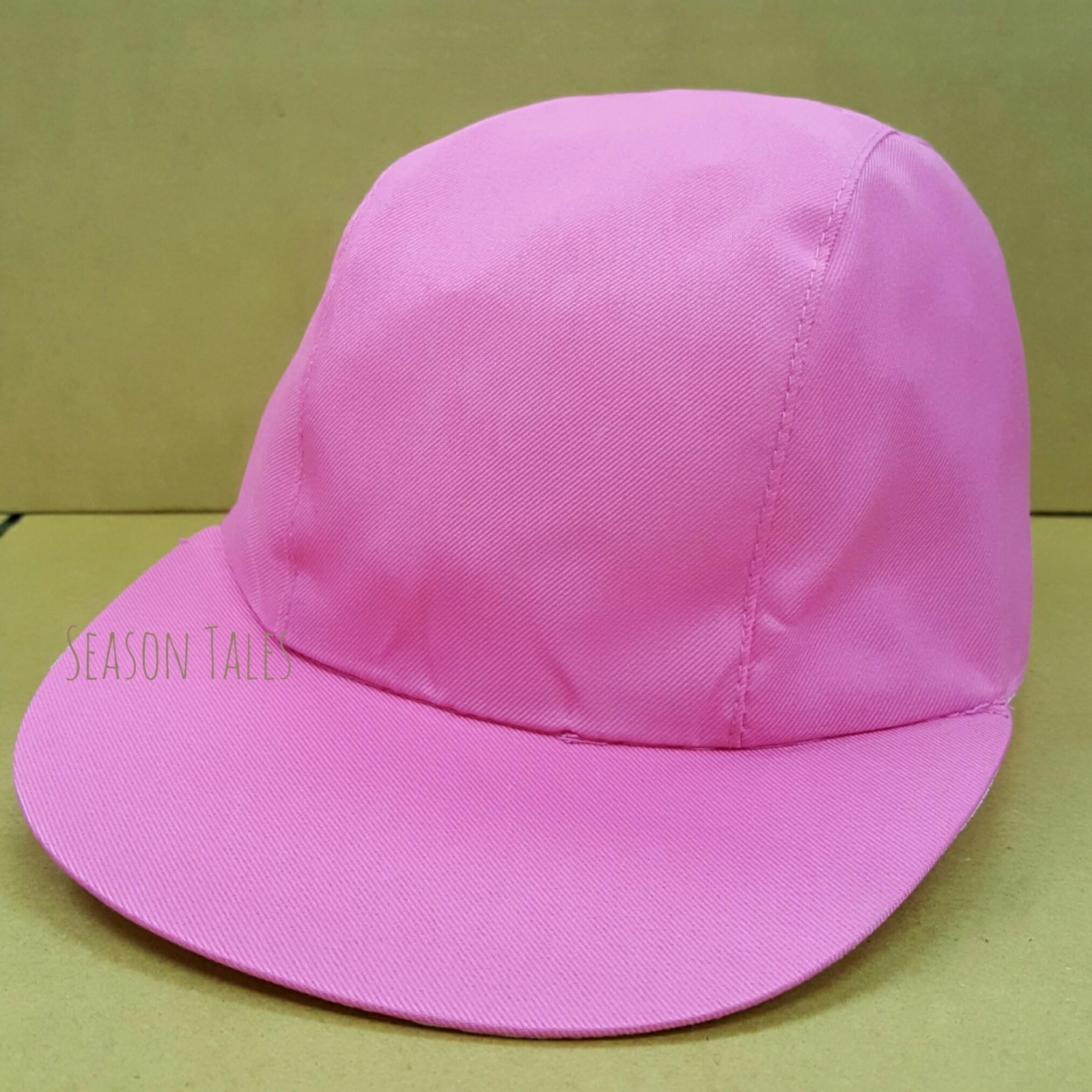 หมวกแก๊ป กีฬาสี สีชมพู ราคาถูกสุดๆ (สั่งในเว็บไม่ได้ สั่งผ่านLine เท่านั้น)