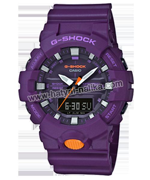 นาฬิกา Casio G-Shock ANALOG-DIGITAL GA-800SC Sporty Color series รุ่น GA-800SC-6A ของแท้ รับประกัน1ปี