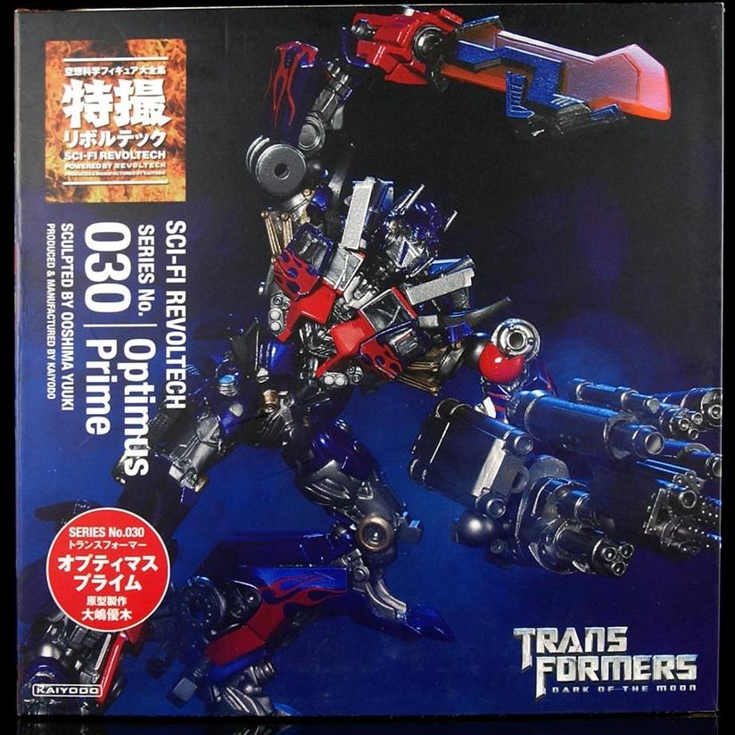 Revoltech Sci-Fi No.030 : Optimus Prime - Transformers Dark Of The Moon NEW