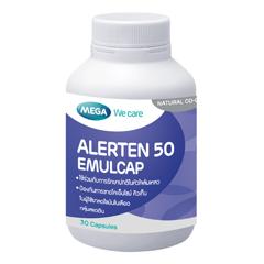 Alerten 50 Emulcap 30's