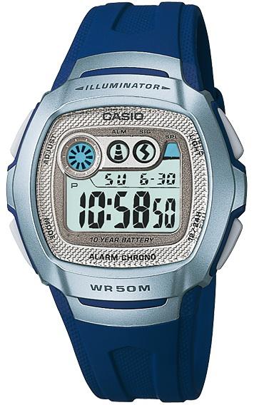 นาฬิกา คาสิโอ Casio 10 YEAR BATTERY รุ่น W-210-2A