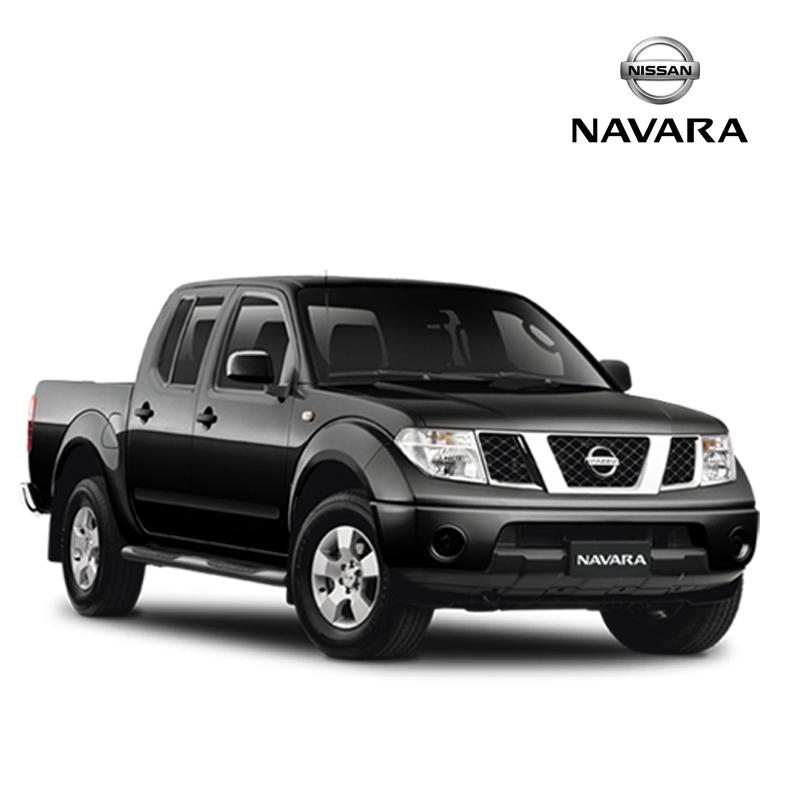 พรมดักฝุ่นไวนิล ชุด Full จำนวน 10 ชิ้น Nissan Frontier Navara 4 Door