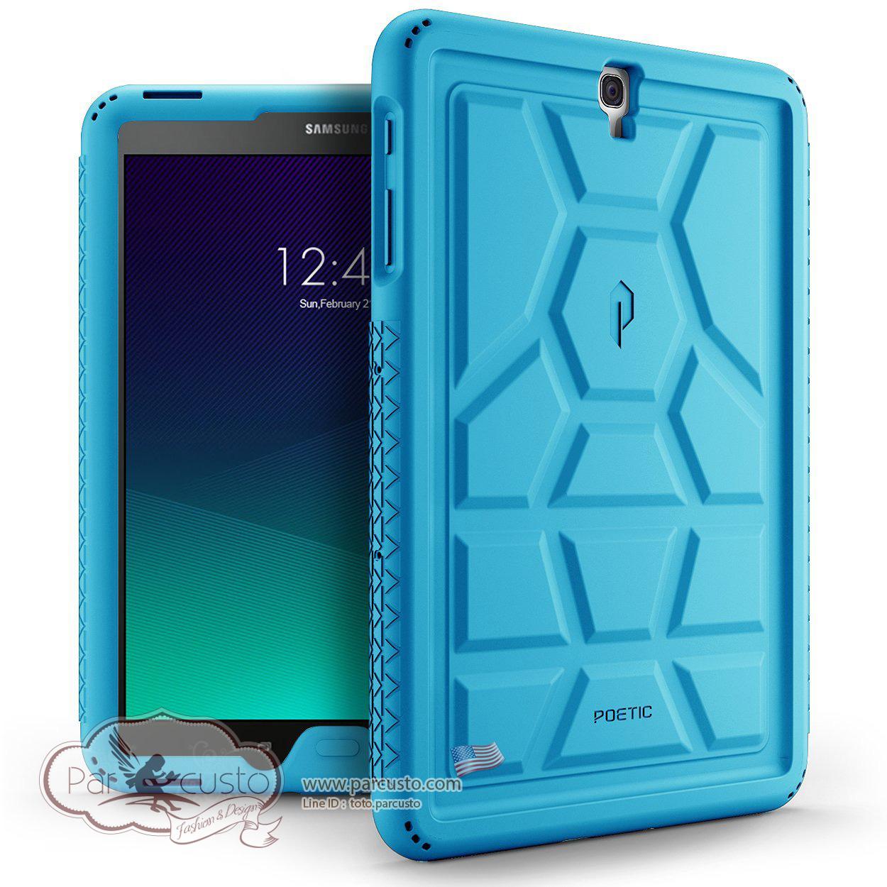 เคสซิลิโคนกันกระแทก Samsung Galaxy Tab S3 9.7 [TurtleSkin] จาก Poetic [Pre-order USA]