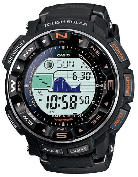 นาฬิกา คาสิโอ Casio PRO TREK DUAL-LAYER LCD รุ่น PRG-250-1