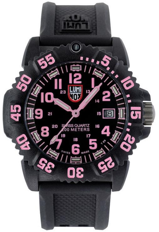 นาฬิกา Luminox รุ่น LUMINOX 7065 Luminox Ladies NAVY SEAL PINK Colormark Watch