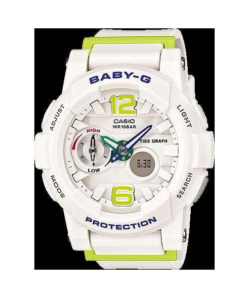 นาฬิกา คาสิโอ Casio Baby-G Standard ANALOG-DIGITAL รุ่น BGA-180-7B2