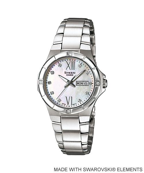 นาฬิกา คาสิโอ Casio SHEEN 3-HAND ANALOG รุ่น SHE-4022D-7A
