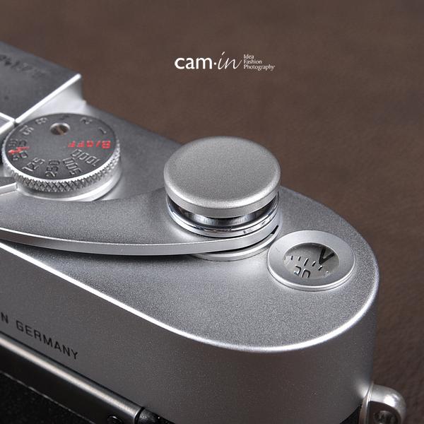 Soft Shutter Release รุ่น 16 mm ปุ่มใหญ่ เว้าลง สีเงิน กดง่ายสะดวก สำหรับ Fuji XT2 XE2 X20 X100 XE1 XT20 XT10 Leica ฯลฯ