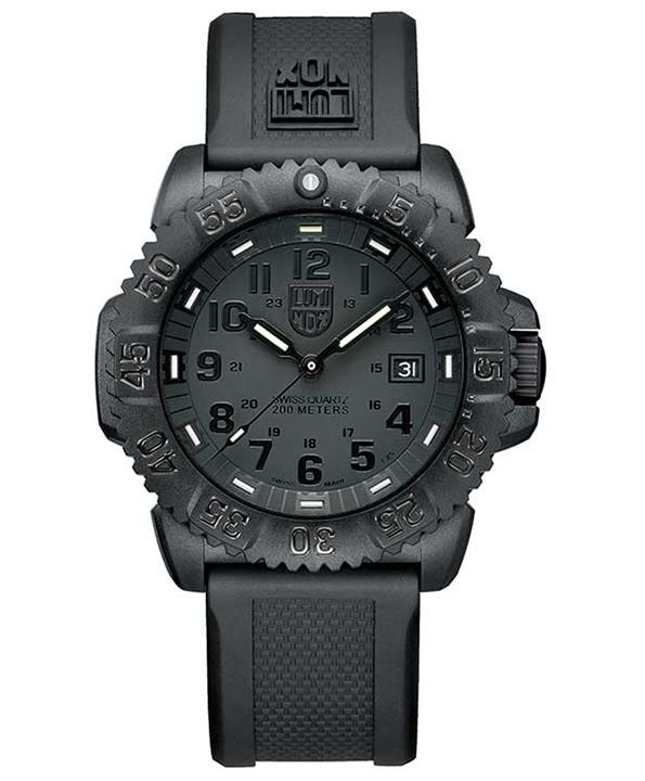 นาฬิกา Luminox รุ่น LUMINOX XS.3051.BO EVO Navy SEAL Blackout Men\'s Military Watch