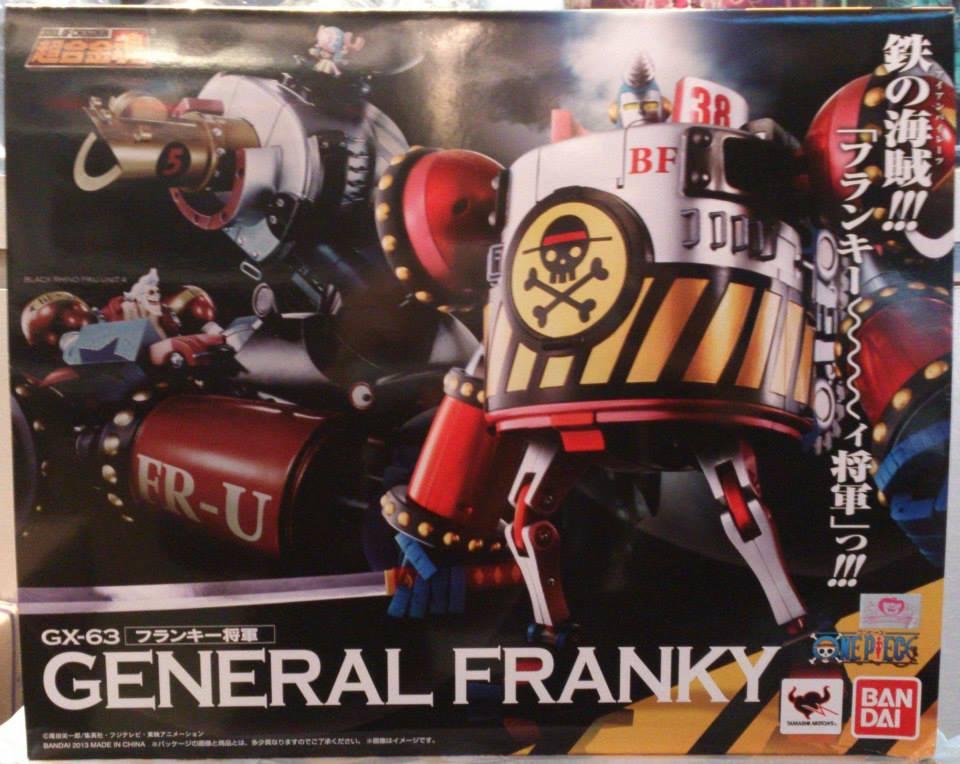 Soul of Chogokin GX-63 General Franky One piece Film Z NEW [Lot.HK]