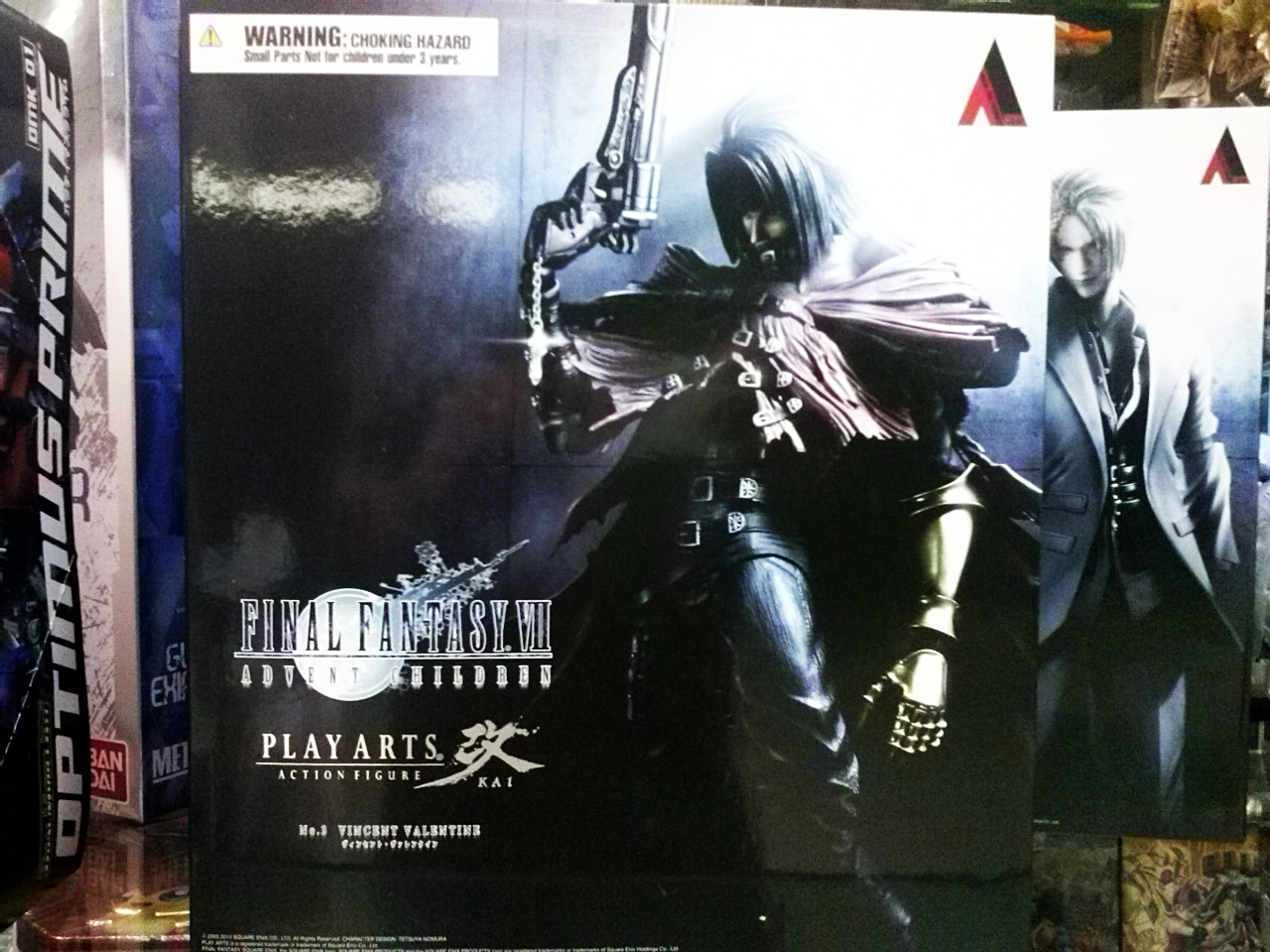 Play Arts Kai : Vincent Final Fantasy VII Advent Children No.1 NEW