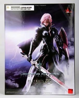 Play Arts Kai Lightning Final Fantasy XIII Lightning Returns NEW