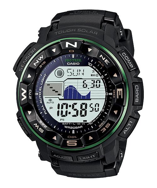 นาฬิกา คาสิโอ Casio PRO TREK DUAL-LAYER LCD รุ่น PRG-250-1B