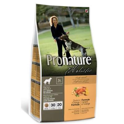 Pronature-Duck and Orange แมวโต สูตรเนื้อเป็ดไม่มีธัญพืช