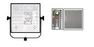 1×1 LED panel