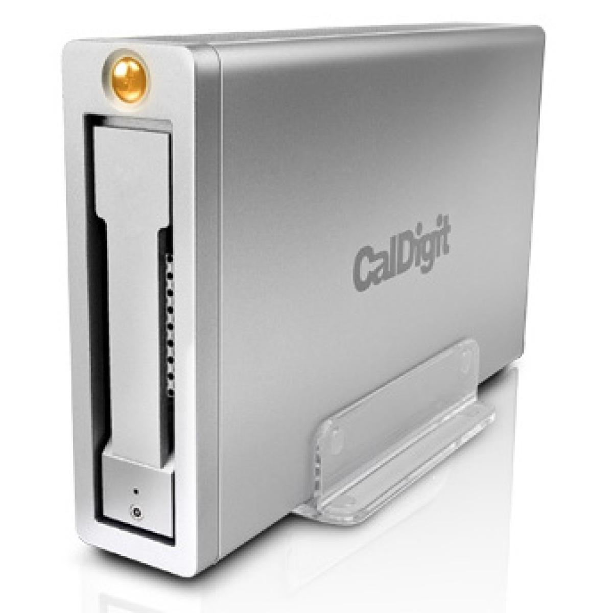 CalDigit AV Pro Max Capacity: HDD 4TB, SSD 480GB | Max Speed: SSD 430MB/s Interface: USB 3.0 & FireWire 800