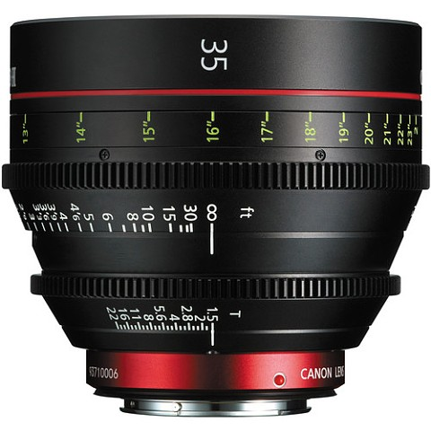 Canon CN-E 35 T1.5 L F Cine Lens - EF Mount (สอบถามราคาพิเศษ 0868886534)