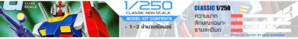 GUNDAM CLASSIC 1/250 SCALE