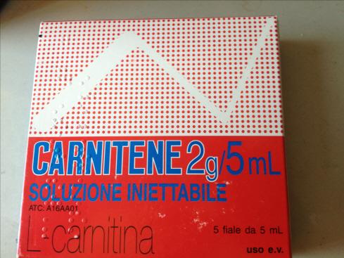 L-carnitina 2g/5ml