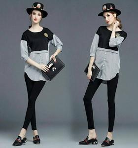 ชุดเซ็ทเสื้อ+กางเกง ผ้าคอตตอน