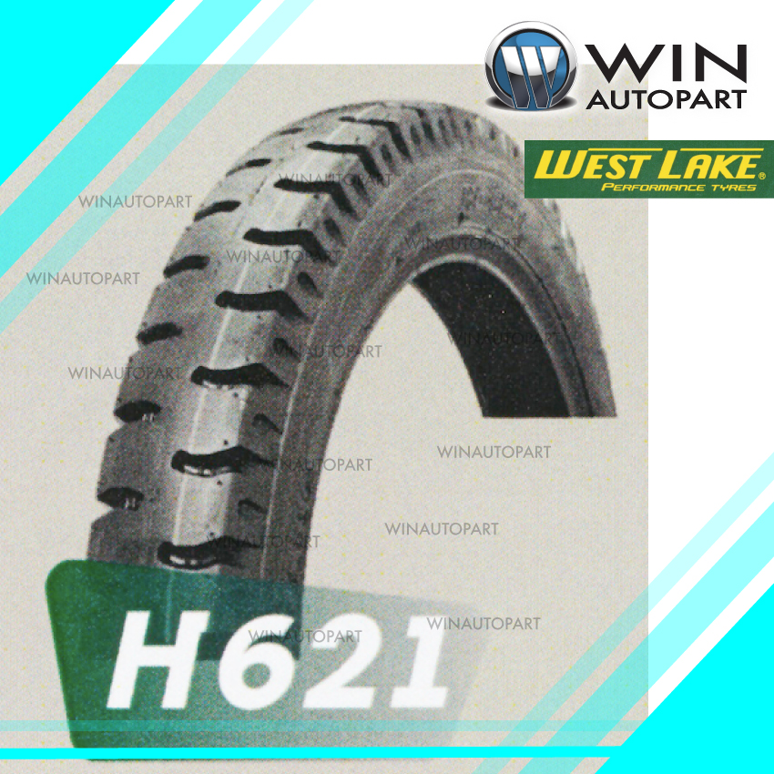 2.75-18 T/T ยี่ห้อ WEST LAKE รุ่น H621 ยางมอเตอร์ไซค์ Winautopart